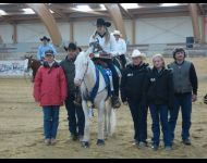 2007-MISS WHITE COMMANDO (French Futurity Non Pro Champion avec Emeline Vernet)